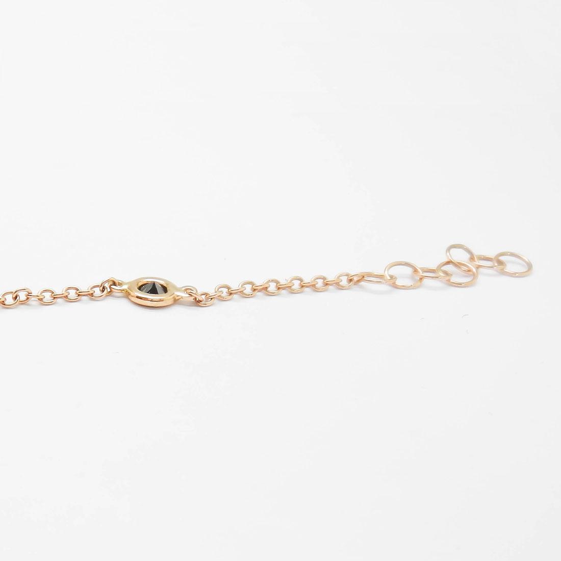 il-marchese-diamonds-diamanti-gioielli-artigianali-bracciale-maglia-oro-rosa-diamanti-neri-4