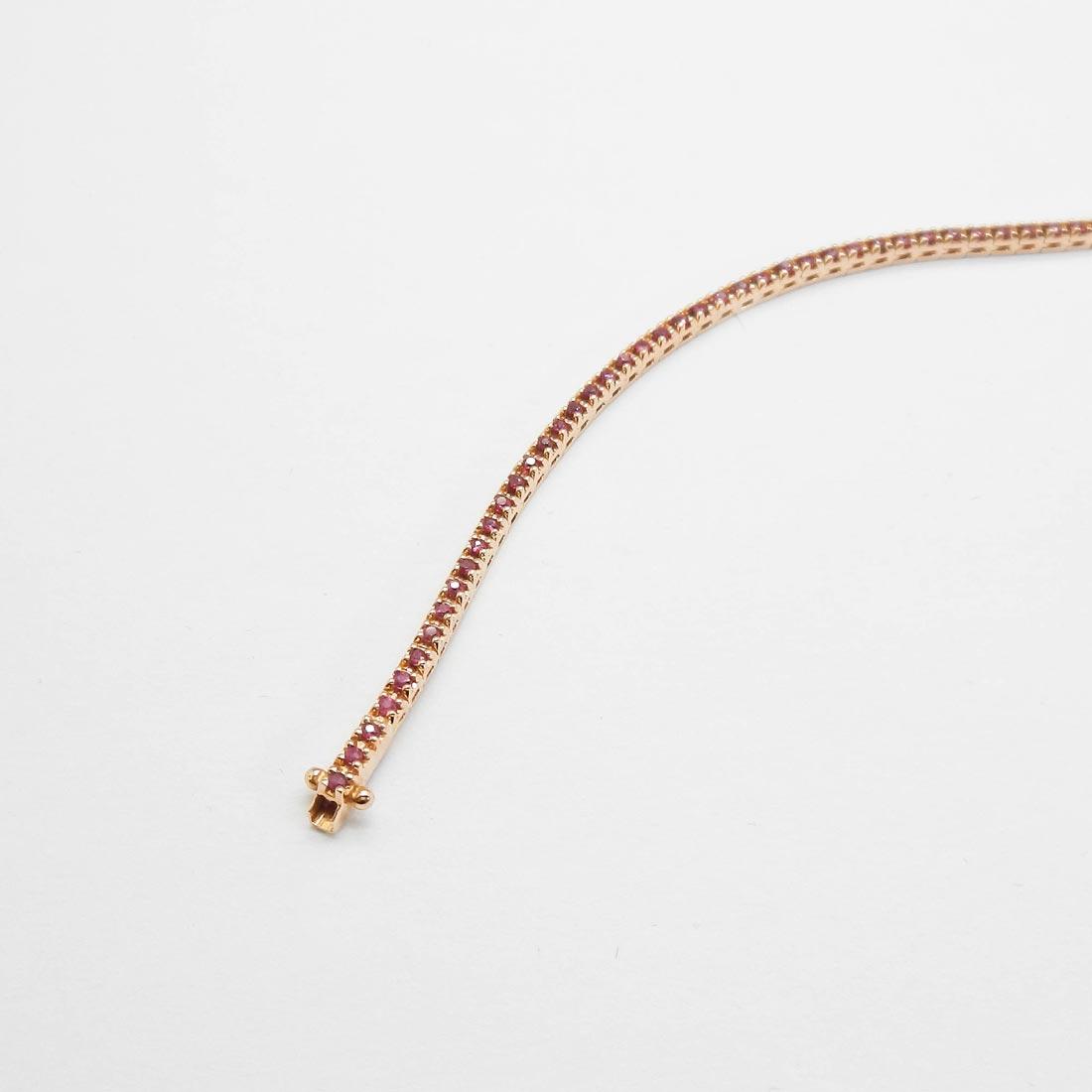 il-marchese-diamonds-diamanti-gioielli-artigianali-bracciale-tennis-oro-giallo-rubini-2