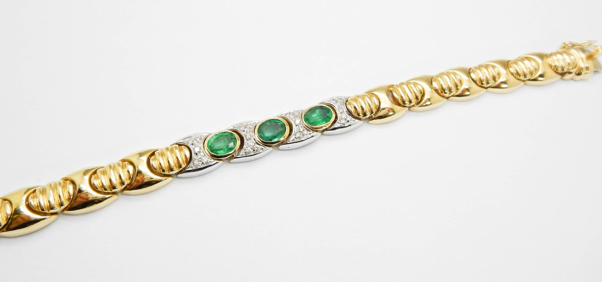 il-marchese-diamonds-gioielli-artigianali-bracciale-maglia-oro-giallo-smeraldi-pezzi-unici-collezione-2