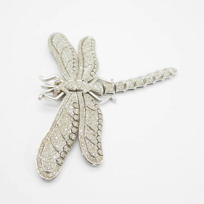 il-marchese-diamonds-gioielli-artigianali-pendente-libellula-oro-bianco-3