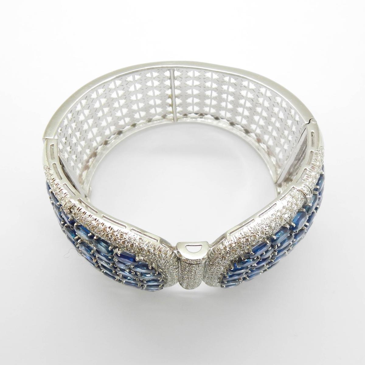 il-marchese-diamonds-diamanti-gioielli-artigianali-bracciale-rigido-zaffiro-zaffiri-blu-oro-bianco-1