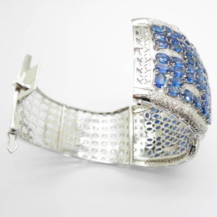 il-marchese-diamonds-diamanti-gioielli-artigianali-bracciale-rigido-zaffiro-zaffiri-blu-oro-bianco-2