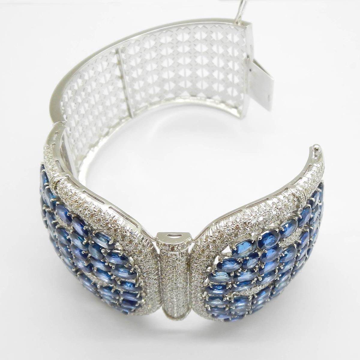 il-marchese-diamonds-diamanti-gioielli-artigianali-bracciale-rigido-zaffiro-zaffiri-blu-oro-bianco-3