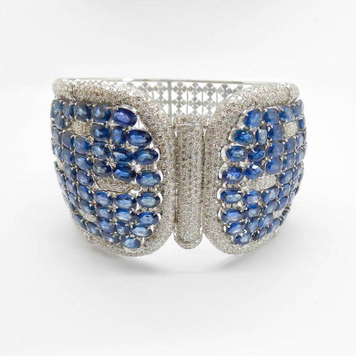 il-marchese-diamonds-diamanti-gioielli-artigianali-bracciale-rigido-zaffiro-zaffiri-blu-oro-bianco-4