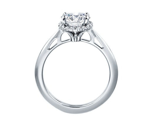 anello oro bianco diamanti